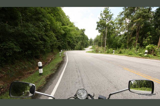 Motorcycling in the Golden Triangle